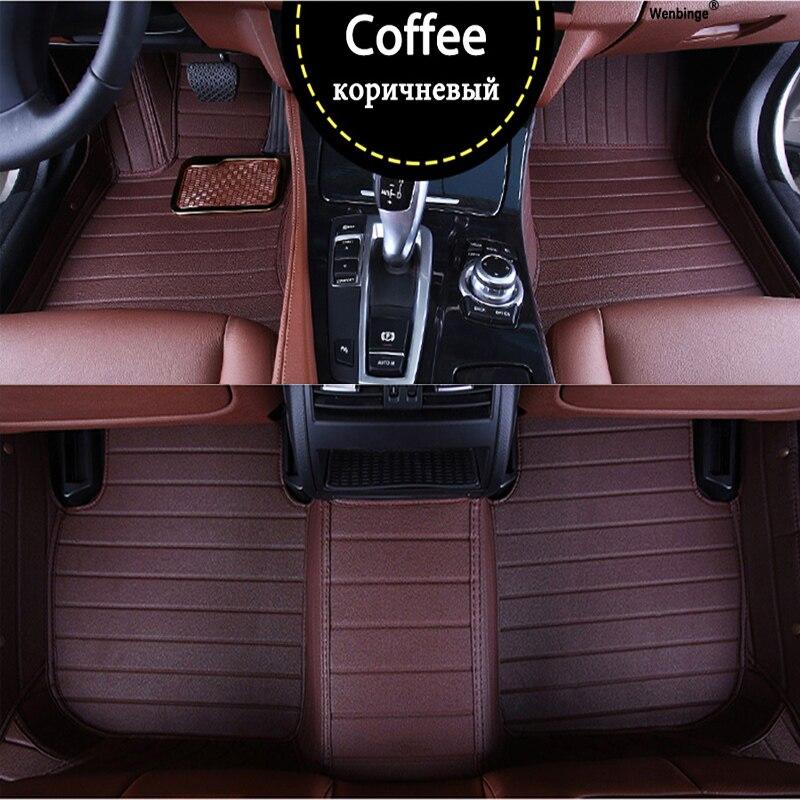 Custom car floor mats for LandRover all models LR2 LR3 LR4 Range Rover Freelander discovery evoque auto accessories Foot mats