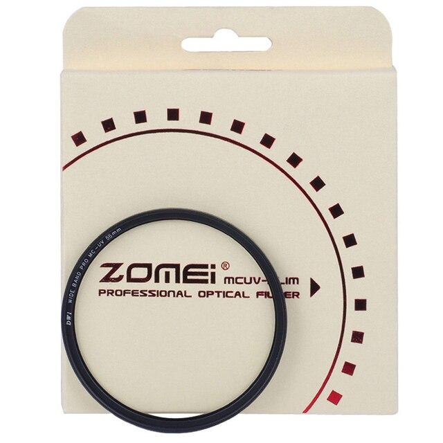 Zomei カメラフィルター紫外線 UV スリム MCUV フィルターマルチコートレンズプロテクター 49/52/55/58 /62/67/72/77/82/86 ミリメートルソニー