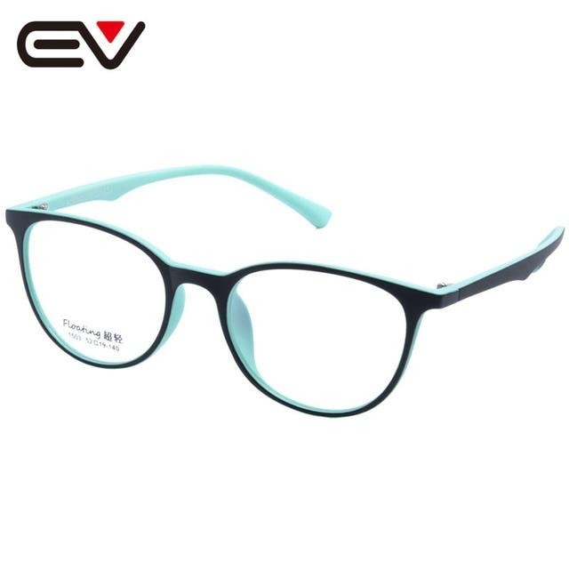 Fashin Women Acetate Optical Eyeglasses Frames Cateye Frame Clear Lens Eyewear Frame Light Weight 4 Color EV1400
