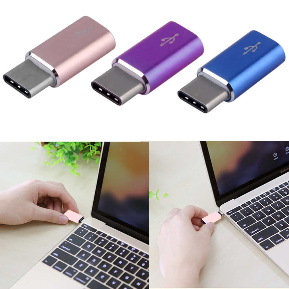 High Quality USB 3.1 Type-C Male to Micro USB Female Converter Micro USB Connector USB-C Adapter Type hot new Hot Drop best price portable usb 2 0 type a male to usb type b female plug extend printer adapter converter new arrival for