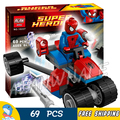 New Bela 10237 Ultimate SpiderMan Spider-Trike vs. Electro bricks Building blocks Action figure Playset Toy Compatible With Lego