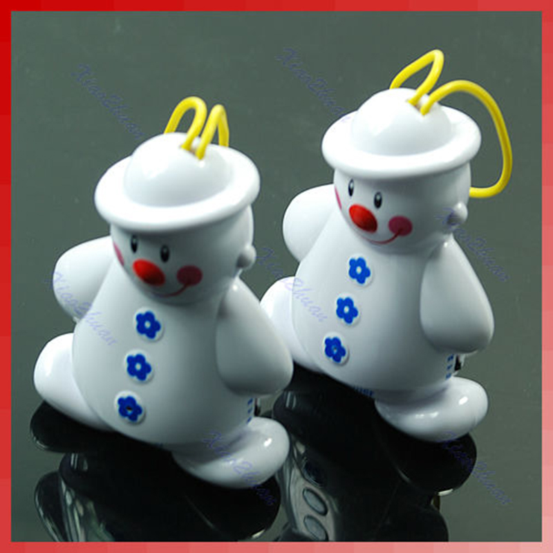 New Lovely Snowman Wireless Baby Cry Detector Monitor Watcher Alarm