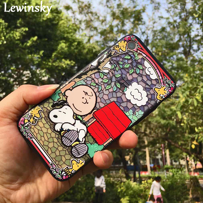 Lovely 3d Cartoon Boys pet Dogs Phone Cases For Iphone 6 Case For Apple iphone 6S 6 Plus 6SPlus Animal dog Pattern Cover O28