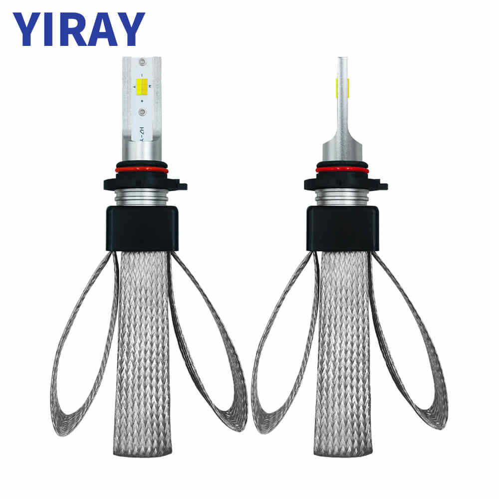 YIRAY ampoule LED 12V Headlight Bulbs LED H7 H4 9003 HB2 H1 H11 9005 HB3 9006 HB4 LED 60W 9600LM 6000K Super Bright CSP Chips T9