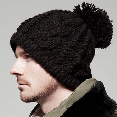 2015 Autumn Winter Mens Beanie Knit Ski Hatstwist Crochet Beanie
