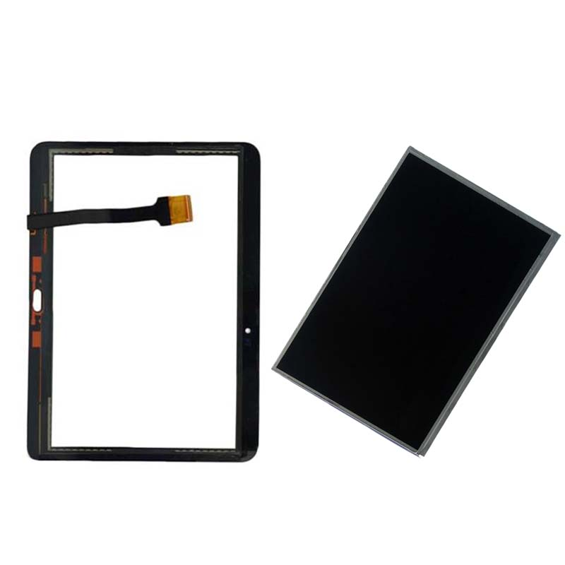 Black For Samsung Galaxy Tab 4 10.1 T530 T531 T535 SM-T530 SM-T531 SM-T535 Touch Screen Digitizer + LCD Display Panel Monitor 10 1 white for samsung galaxy tab 4 10 1 t530 t531 t535 tablet lcd display touch screen digitizer full assembly with frame