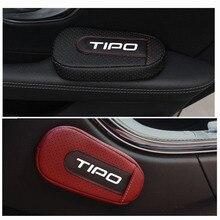 Стильная и удобная подушка для ног, наколенник, подлокотник, Накладка для салона автомобиля, аксессуары для Fiat Tipo