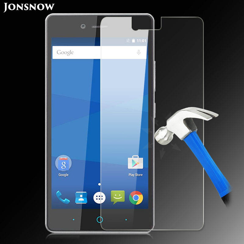 Jonsnow Tempered Glass Film for ZTE Blade A476 Clear Front LCD Explosion-proof Screen Protector pelicula de vidroJonsnow Tempered Glass Film for ZTE Blade A476 Clear Front LCD Explosion-proof Screen Protector pelicula de vidro