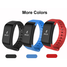 WLNGWEAR Black/Blue/Red PC+TPU Wristband Bluetooth 4.0 Smart Watch Sports Pedometer Heart Rate Monitor IP67 Waterproof