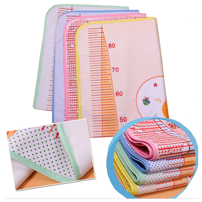 Large Baby Reusable Cloth Diaper Mat Newborn Waterproof Diaper Pad Breathable Urine Pad Mummy Maternity Nappy Changing Pad Cover