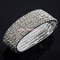 Wedding Crystal Many Rows Bracelet & Bangle For Woman ,Bride