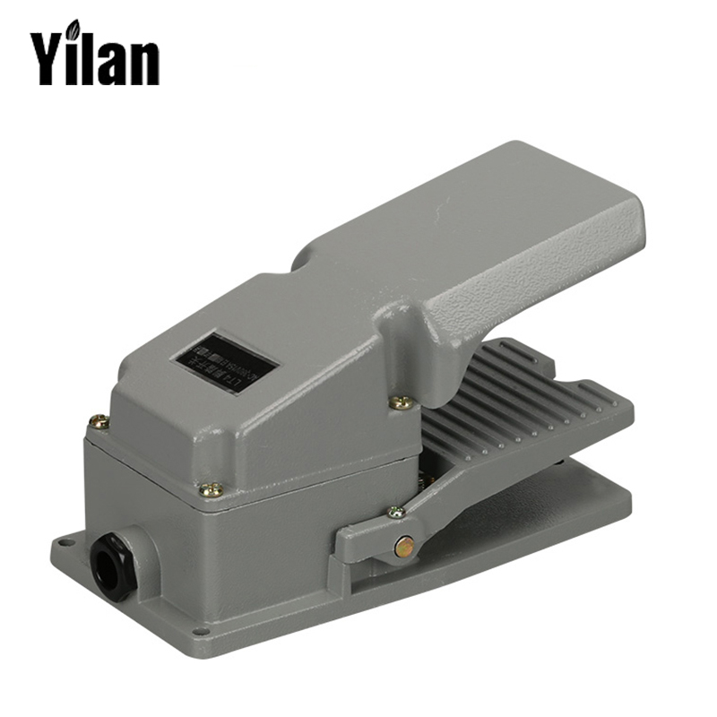 купить LT4 Foot Switch Pedal Switch 5A AC 380V 15A AC 250V Material Aluminum LT4 недорого