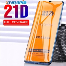 21D Full Curved Protective Glass Film For Samsung Galaxy A80 A70 A60 A50 A40 A30 A20 A10 M10 M20 M30 Screen