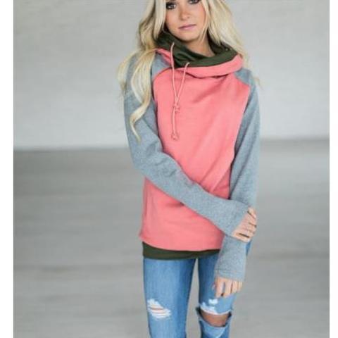 2019 Autumn Winter Plus Size Hoodies Sweatshirts Women Ladies Hooded Sweatshirt Hoodies Women Long Sleeve Female Sweatshirt Pakistan