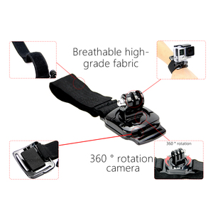Image 3 - SnowHu for Gopro Accessories 360 Degree Rotation Hand Wrist Strap Band for Go pro Hero 9 8 7 6 5 for Xiaomi Yi 4k for sjcam LD09