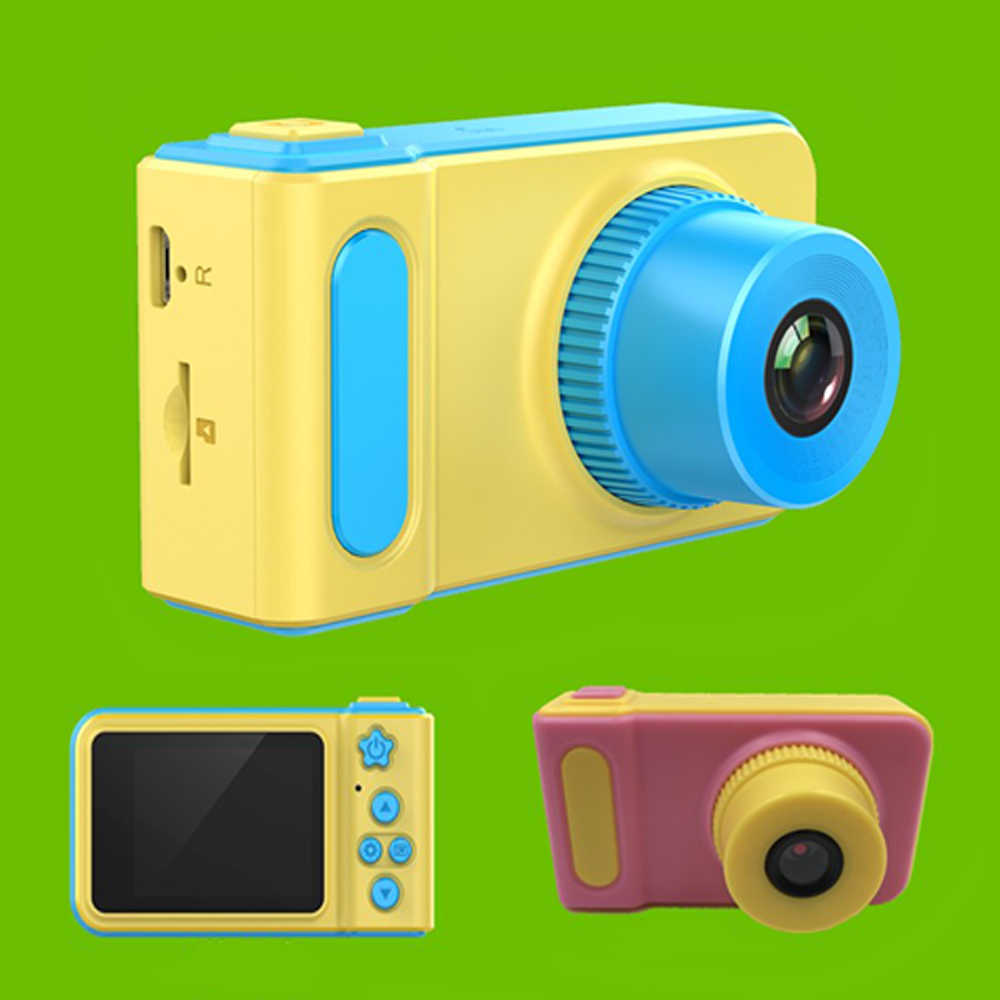 Mini Lovely Kids Digital Video Camera 2.0 Inch Display for Children Birthday Festival Gift Commencement Day Present
