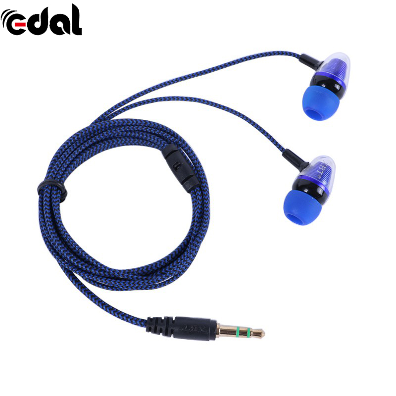EDAL New styles bass clear voice earphone Headset Mobile Computer MP3 Universal earphone With cool outlook evans bd22gmad 22 gmad clear bass