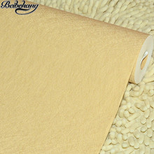 beibehang Wallpaper pure color drawing imitation silk print tooling with simple