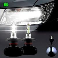2Pcs Super Bright H4 Led Bulb Fog Light Auto Car Headlight S1 N1 50W 8000LM 6000K