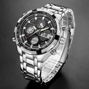 Image 5 - Reloj Hombre GOLDENHOUR Fashion Pop Men Watch montre homme Alarm Sport Highly Praised Man Wrist Watch 2019 Relogio Masculino