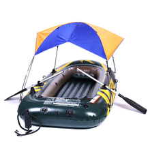 Sun Shelter Tent 2-4 People Fold Tent For Inflatable Boat Fishing Tent Multifunctional PVC Rubber Sun Canopy Sunshade Tent