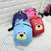 Cartoon Mochila Infantil Children Backpacks Safety Baby Toddler Anti-lost Bag Schoolbag Kindergarten Boys Girls Kids School Bag