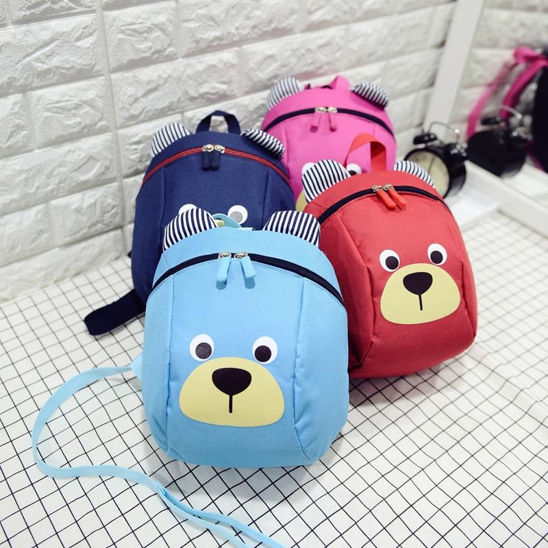 Sac à dos pour enfants | Sac d'école Anti-perte, sac de dessin animé pour enfants, sac d'école pour jardins d'enfants, garçons et filles