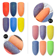 Mtssii Super Shining Nail Glitter Powder Sandy Shimmer Art Decoration Pigment Dust Color Manicure 1 PC