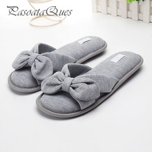 Cotton Cute Women Shoes Breathable Home House Indoor Summer Spring Slippers Asspfct051 Pasoataques Brand