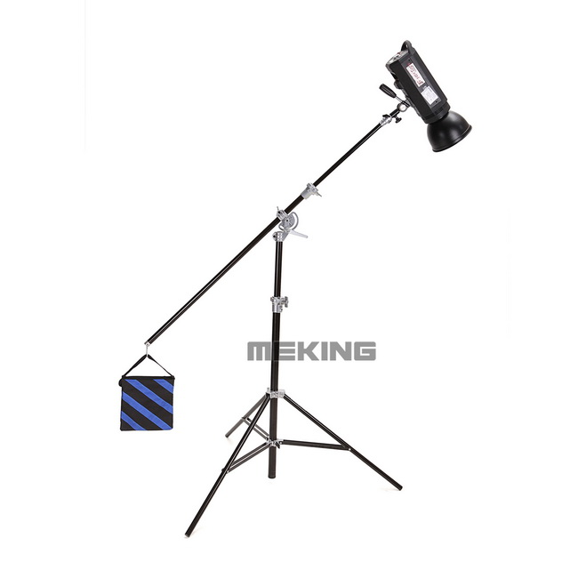 100 Inch Alluminum Alloy Air-Cushioned Tripod Light Stand for Photography Studio