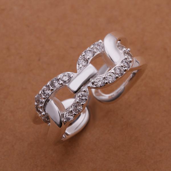 1cfc9c158093 2015 Nueva joyería llega! r211 moda corazón anillo de plata 925 con  incrustaciones de cristal rhinestone San Valentín para las mujeres  accesorios regalos