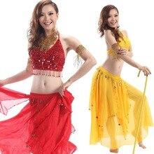 2pcs Set Egyption Egypt Belly Dance Costume Bollywood Dance Costume Indian Dress Bellydance Performance Dancing Skirt 2pcs Sets