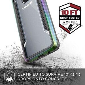 Image 2 - X Doria защитный чехол для Samsung Galaxy S9 S9 Plus, защитный чехол в стиле милитари, алюминиевый чехол для телефона с защитой от падения