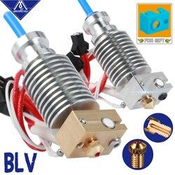 3D Printer Blv Mgn Cube V6 Brass/Ruby Nozzle Hotend For 12v/24v 40w Cartridge And Thermistor E3D V6 Prusa I3 Mk3s Mk2/2.5
