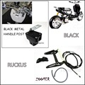 ZOOMER RUCKUS FI NPS50 -Black Engine Frame Extend Extension Kit With black handle post  metal  motorcycle market