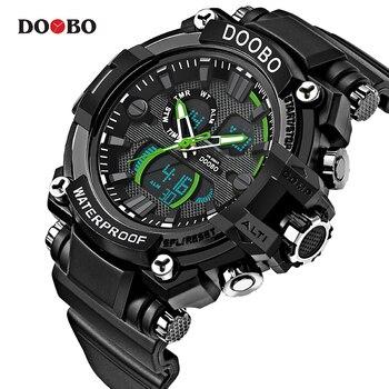2018 Military Sport Watch Men Top Brand Luxury Famous Electronic LED Digital Wrist Watch Male Clock For Man Relogio Masculino дамски часовници розово злато