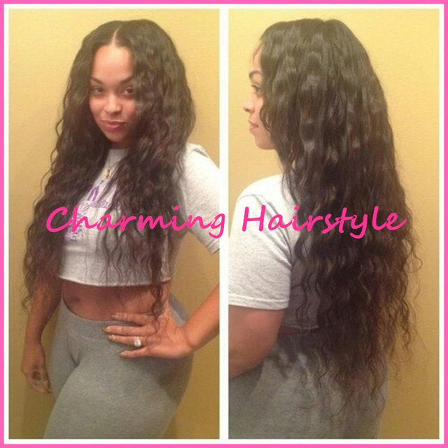 Synthetic Lace Front Hot Selling Heat Resistant long hair styles ...