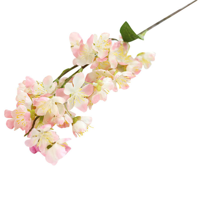 Online Shop 2018 new spring Artificial Fake Flowers Leaf Cherry ...