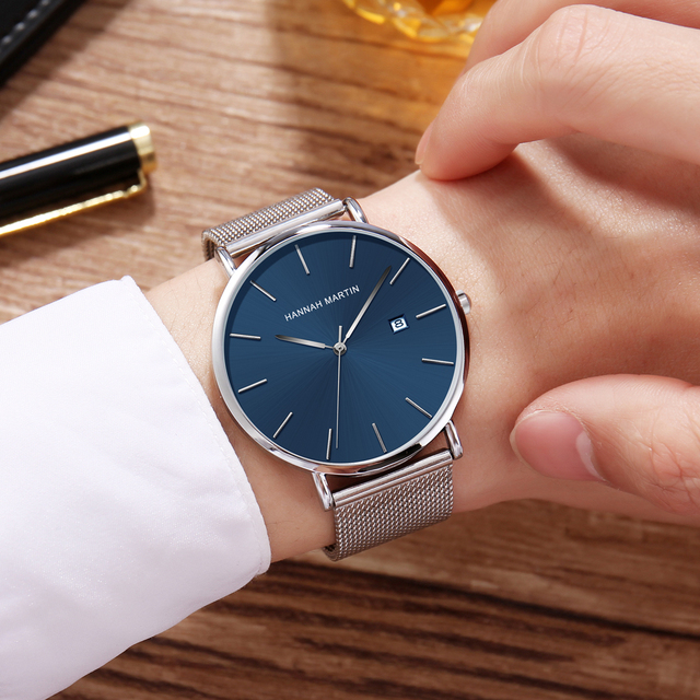 Men watches top Brand Japan Quartz Movement Waterproof Wristwatches Fashion business Luxury Ultra Thin date male Watches relogio 4