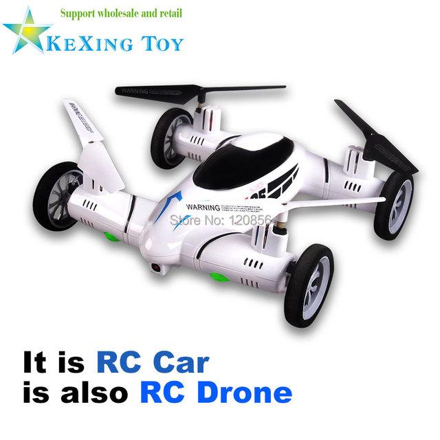 2.4G 4CH 6-Axis X25-1 RC drone quadcopter Helicóptero com câmera FPV Ar-terra anfíbio de controle Remoto de brinquedo do RC VS SYMA X9