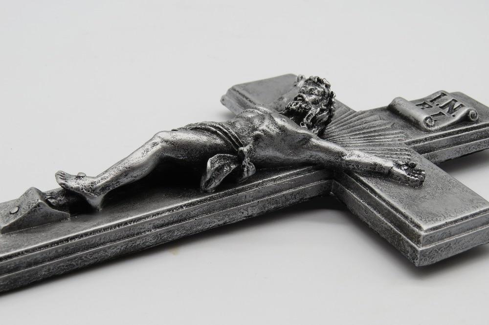 Resin Christ On Inri Cross