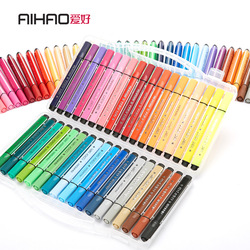 Color Art Marker Pen Drawing Set Colors Children Painting Watercolor Pens Safe Non-toxic Water Washing Graffiti Gifts Stationery
