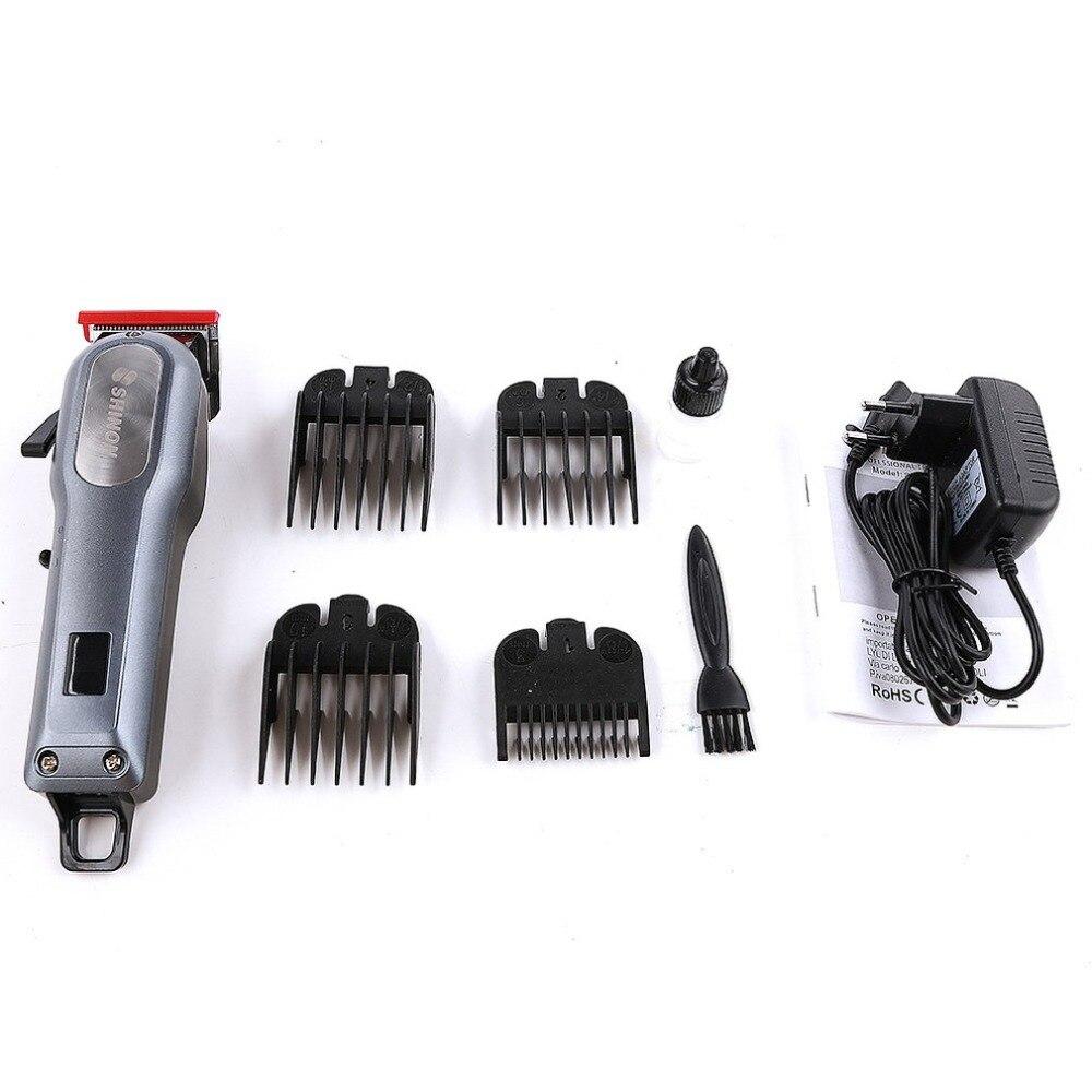 SH-1888 tondeuse à cheveux affichage numérique Rechargeable électrique coupe-cheveux professionnel tondeuse barbier coupe de cheveux outil