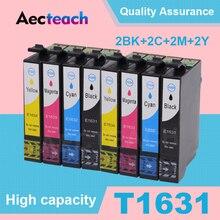 Ink-Cartridge WF-2530 16-T1631 T1621 Epson Workforce Printer WF2650 8pcs