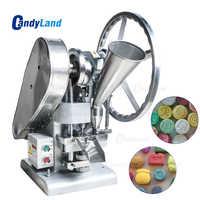 CandyLand TDP1.5 Single Tablet Punch Die Press Machine Sugar Pill Machine Candy Stamping Making Pressing Mold Making Machine