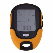 Portable Waterproof Outdoor Camping Altimeter  Multifunction Running Swimming LCD Digital Altimeter Barometer Compass Tool New