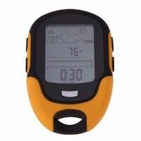 Portable Waterproof Outdoor Camping Altimeter Multifunction Running Swimming LCD Digital Altimeter Barometer Compass Tool