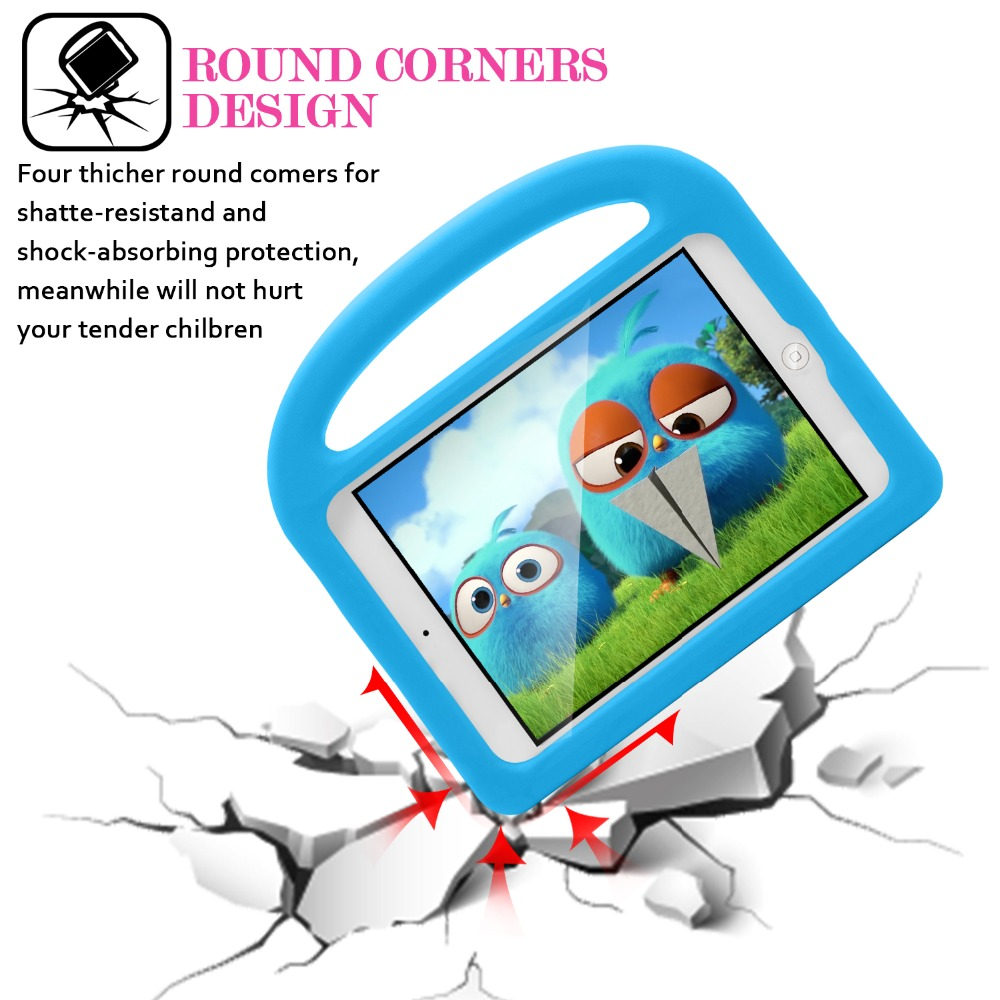 New For iPad Air 1 Air 2 iPad 9.7 2017 2018 Case Kids Silicon Cartoon Shockproof Stand for iPad 2018 Case Kids Children 9.7''    (10)