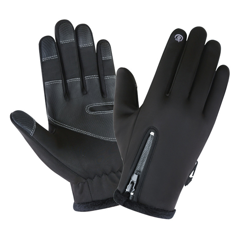 New upgrade ladies men 39 s ski gloves breathable winter motorcycle riding waterproof snow wind stop warm wave camping leisure in Cycling Gloves from Sports amp Entertainment