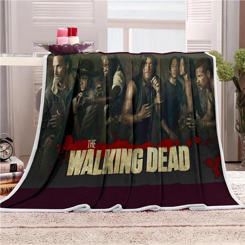 Walking Dead Fleece Throw